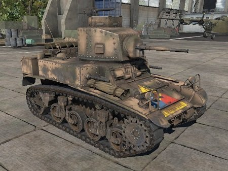 M3 Stuart. Гайд