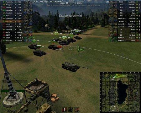 World Of Tanks. Как самостоятельно сделать стрим