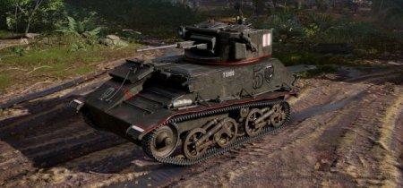 Обзор премиумного легкого британского танка Light Mk. VIC