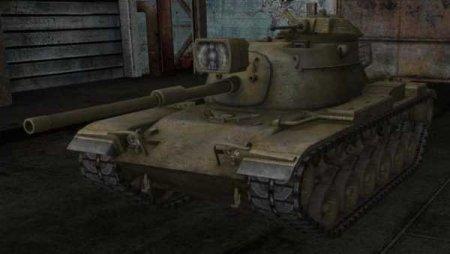 Обзор премиумного американского среднего танка M60