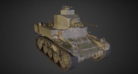 Обзор премиумного легкого ленд-лизовского танка M3 Легкий