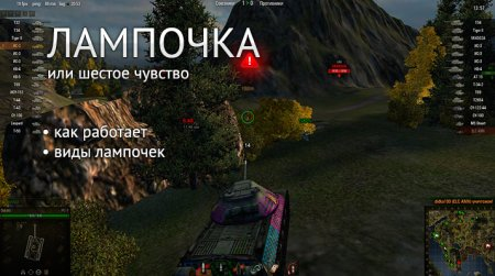 World of Tanks: как установить лампочку