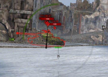 World of Tanks: автоматическое упреждение с прицелом ProAIM