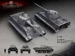 E 50 Ausf. M. Обзор среднего немецкого танка 10 уровня