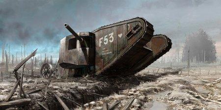 Английский танк Mark 1