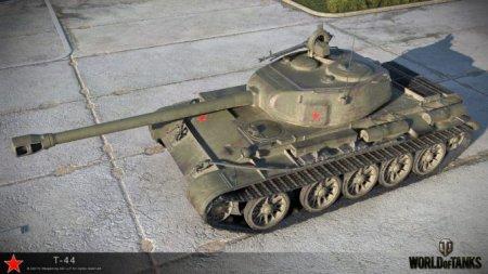 Средние танки. Т-44. Гайд