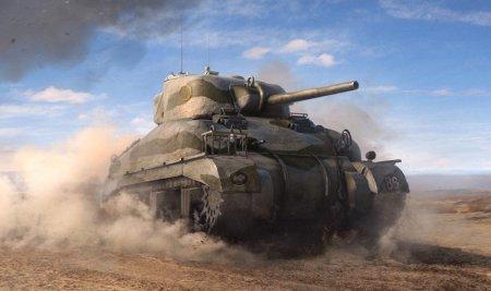 M4 Sherman - стальной генерал в жизни и играх.