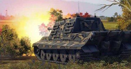 Pak 43 JagdTiger. Особенности игры