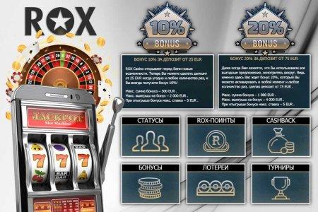 Прибыльные слоты Рокс казино