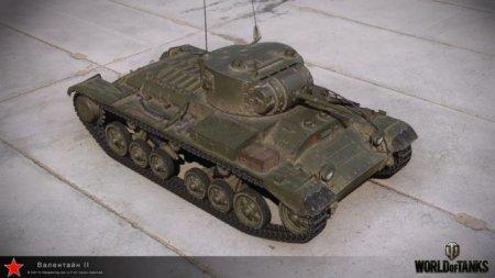 Танк Валентайн II