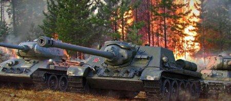 Принципы взводной игры в World of Tanks