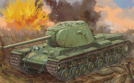 Танк КВ-3 улучшили