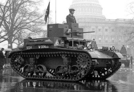 О танке M2 LT