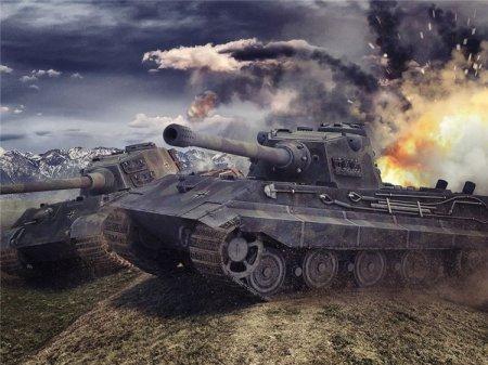 Как качать танк E 75