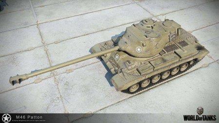 Играем на танке M46 Patton
