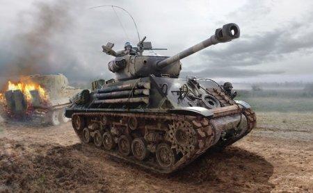 Обзор танка M4A3E8 Sherman