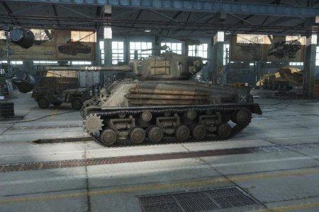 Играем на танке M4A3E8 Sherman
