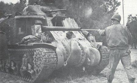 M3 Lee на поле боя