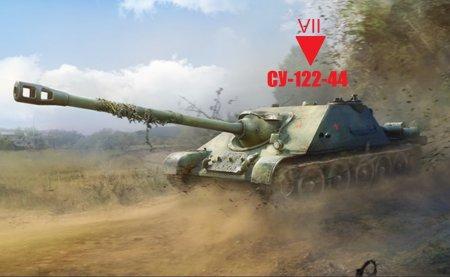 Обзор советской премиумной пт-сау СУ 122-44 «Гром»